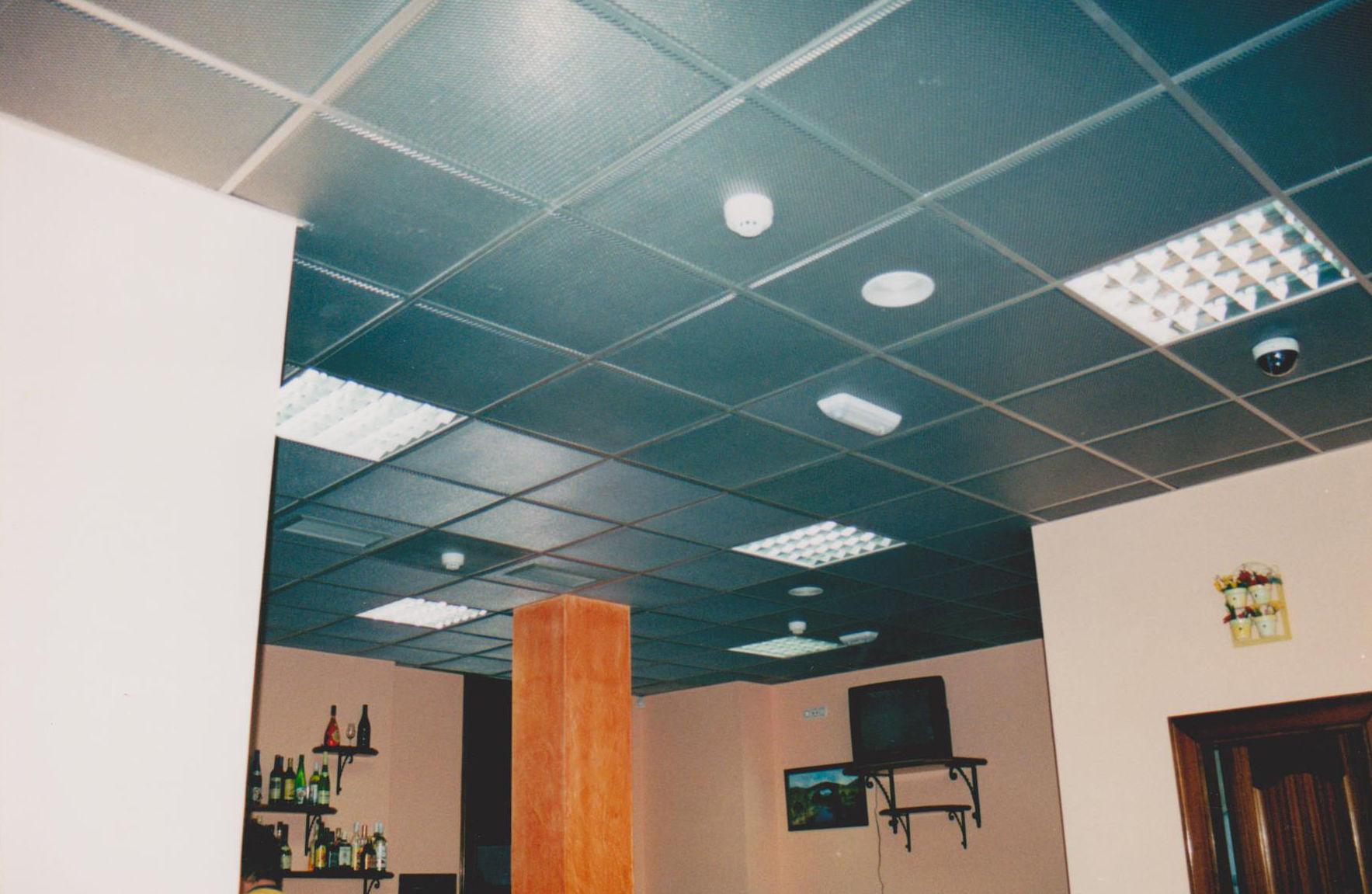 Insonorización cafetería Hotel