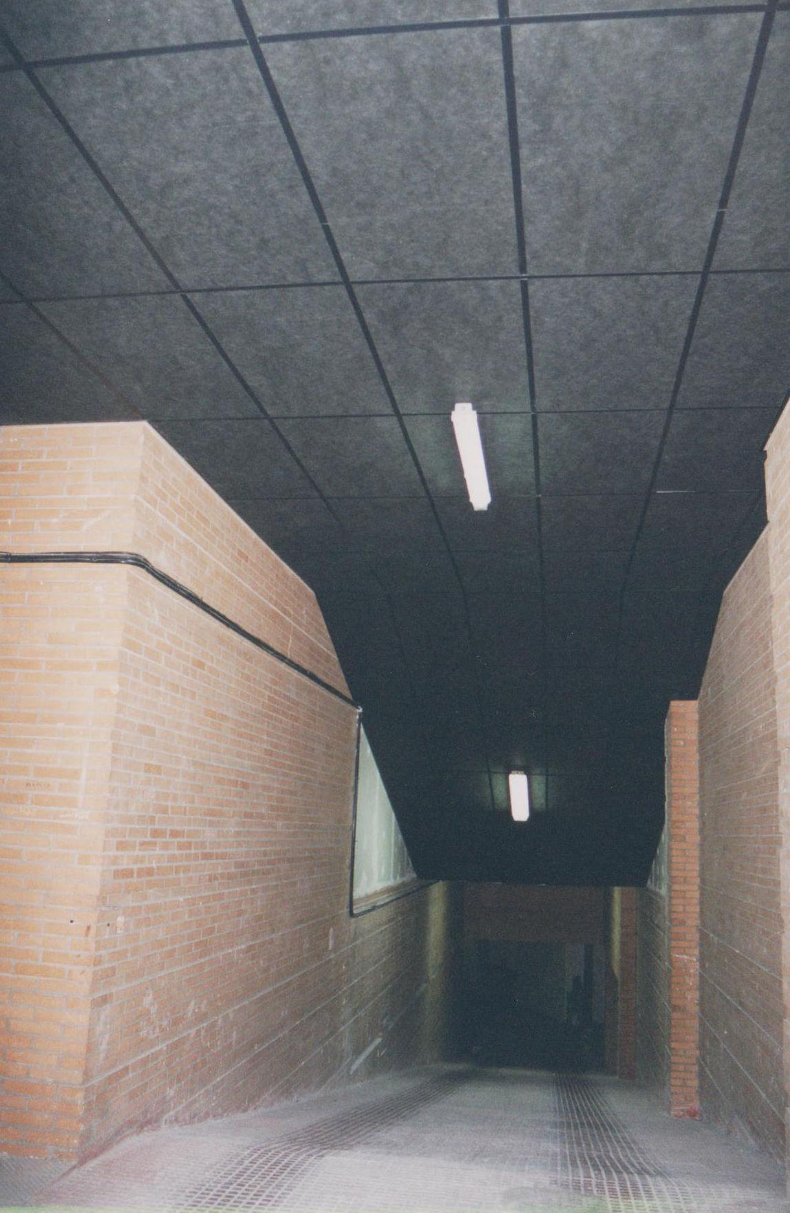 Insonorización rampa de garaje edificio de viviendas