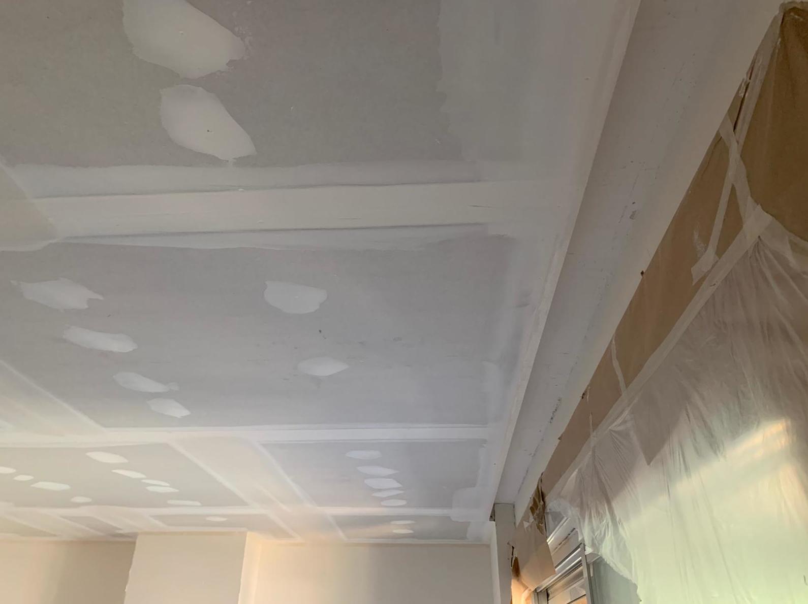 Falsos techos de pladur en un piso de las  Rozas Madrid
