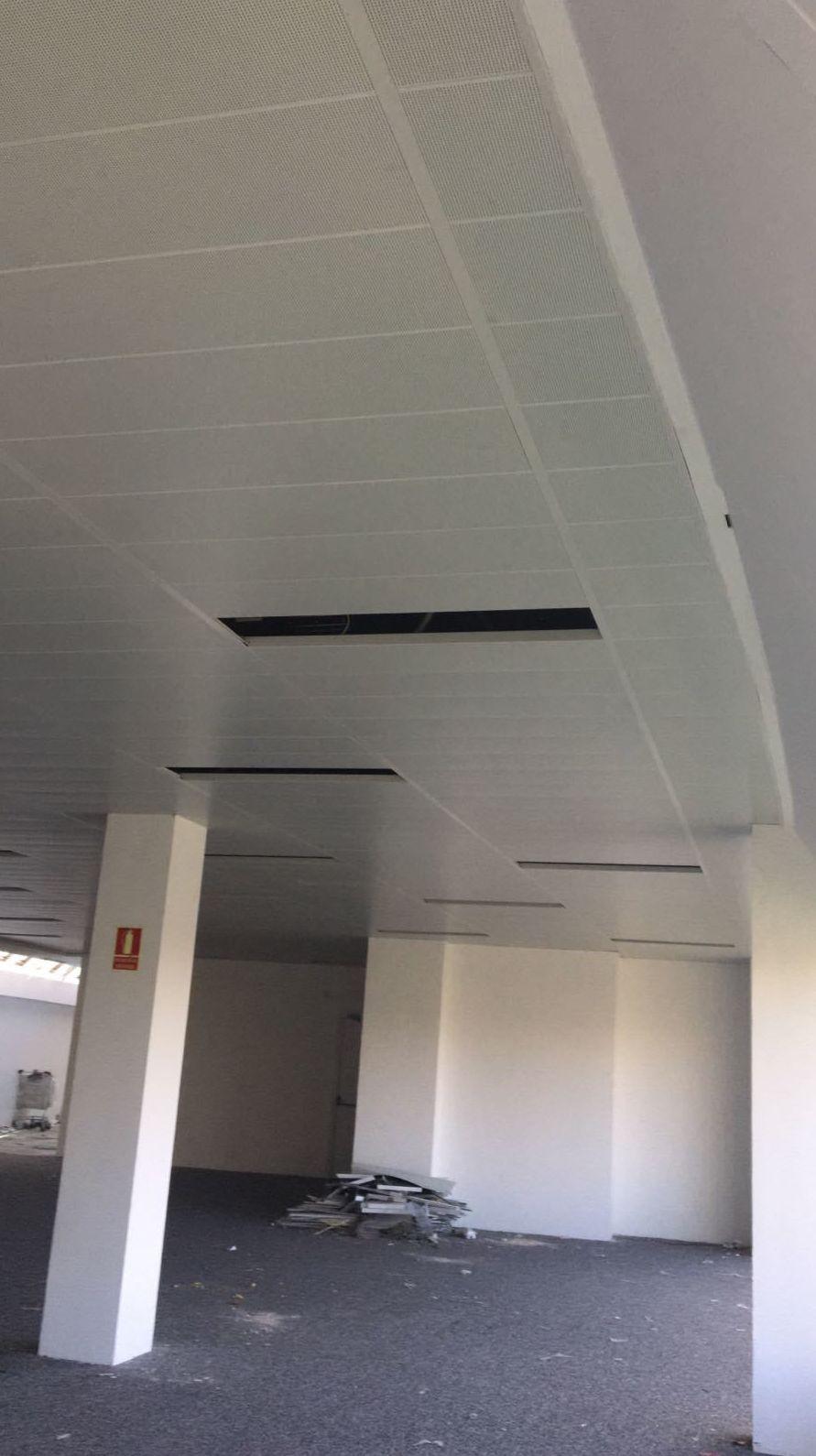 Instalar techo desmontable en Madrid