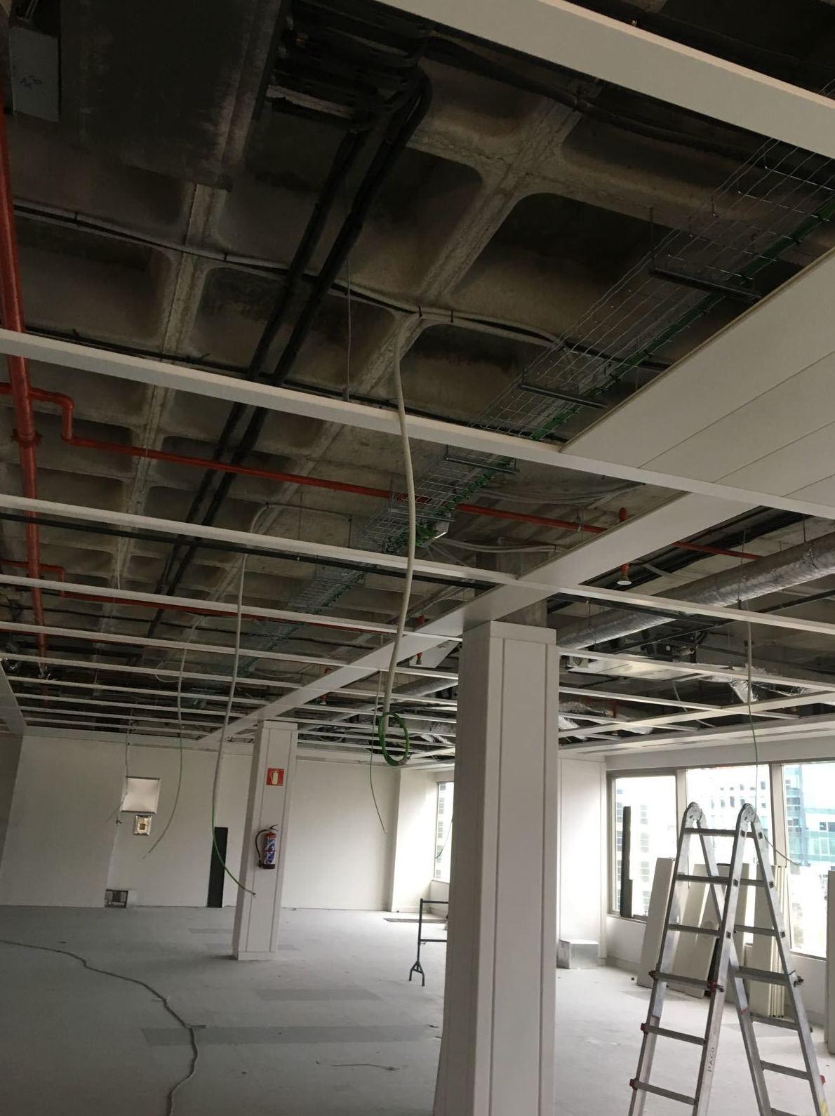 Reforma de techos Obra Martinez de Villegas Madrid