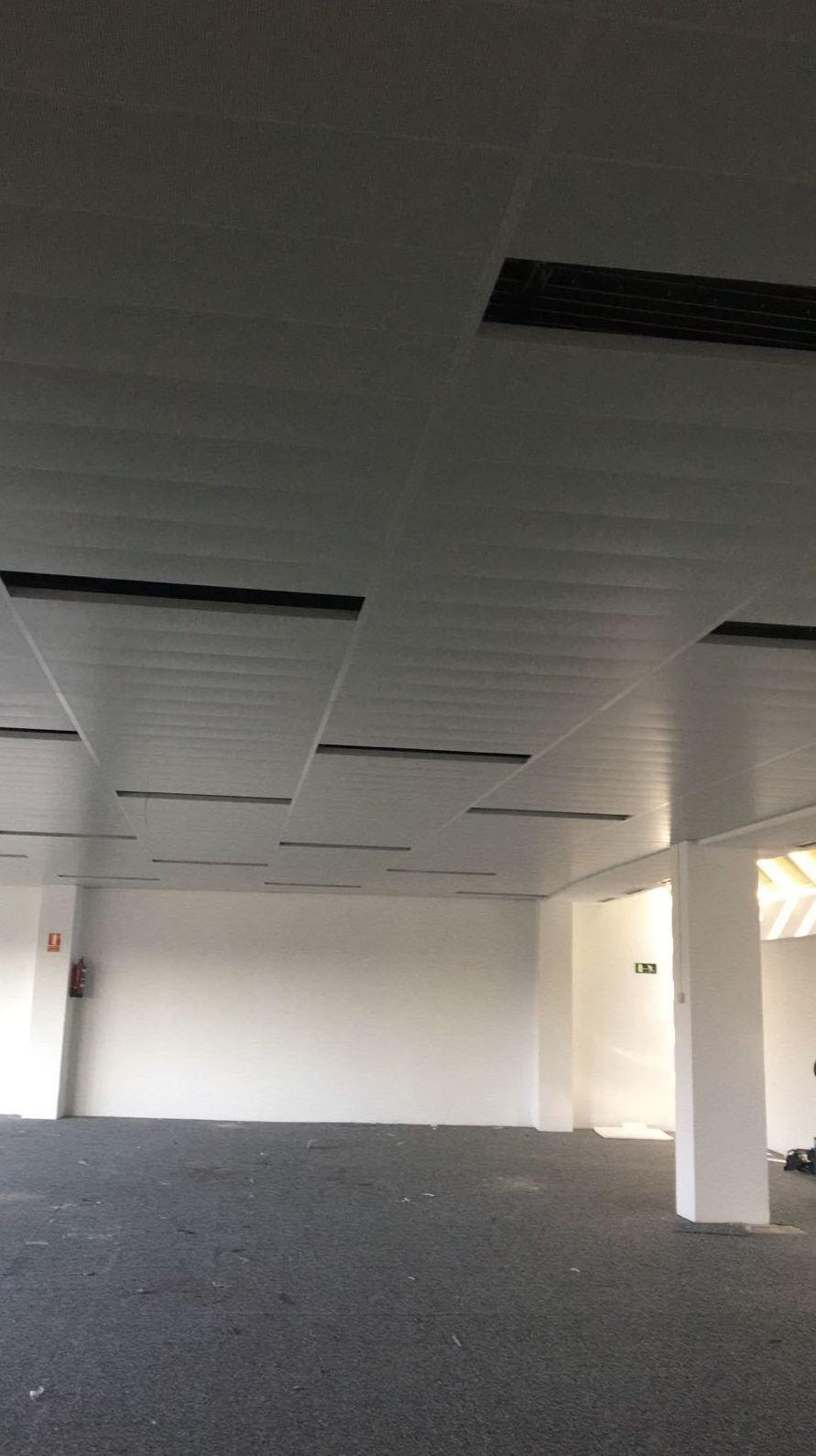 Instalar techos desmontables