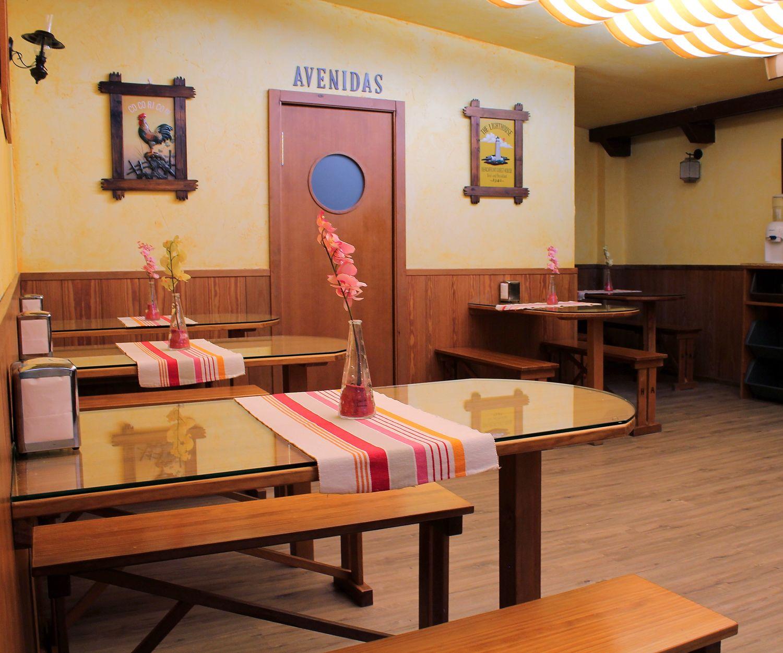 Restaurante para desayunos de nuestro hostal