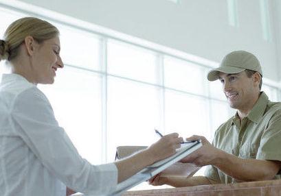 Servicio de mensajería y paquetería
