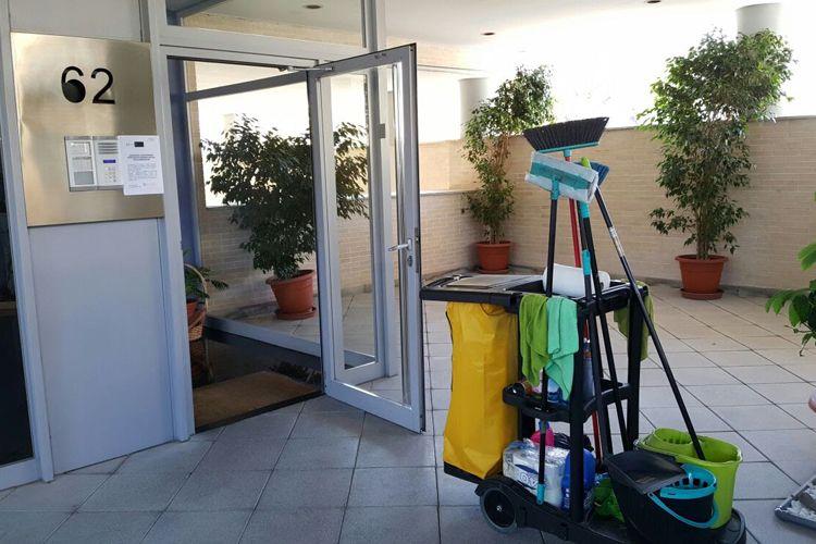 Limpieza de portales en Murcia