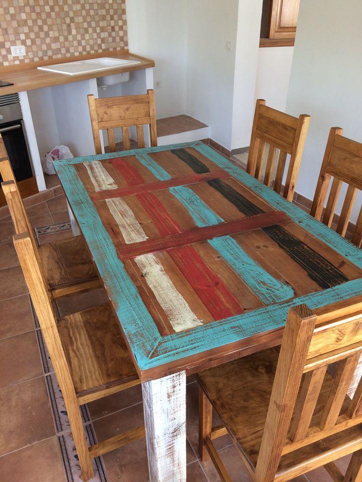 Mesas de madera y diseños originales en Tenerife