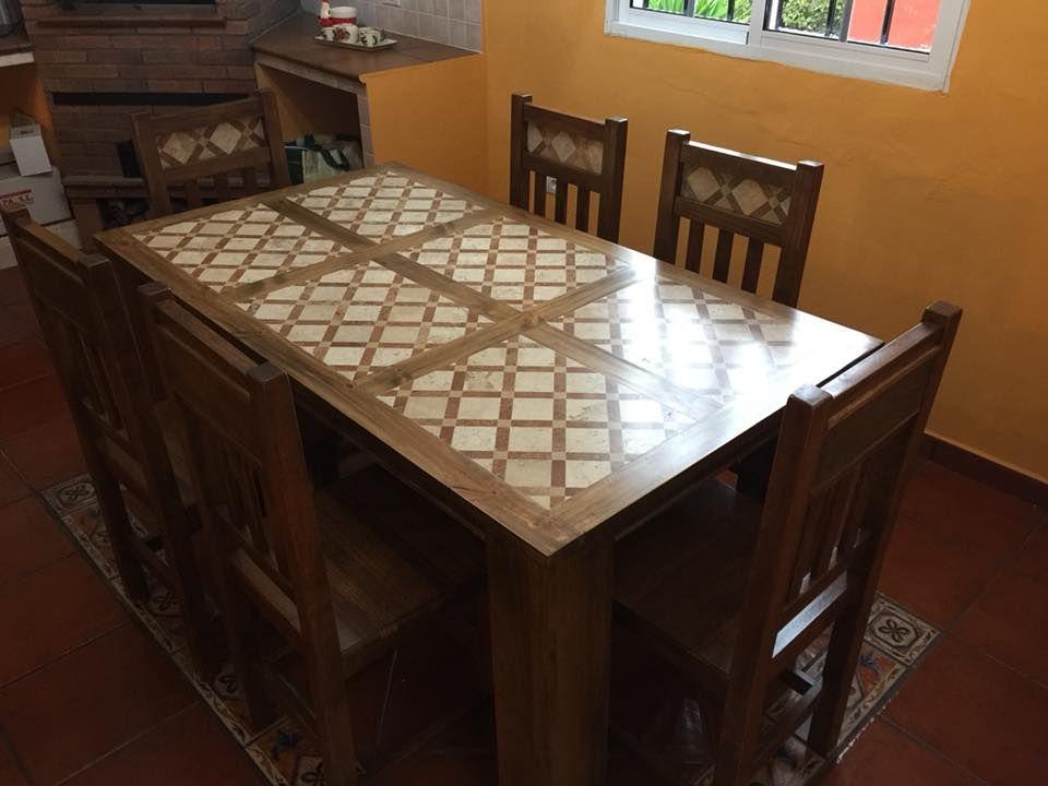 Gran variedad de muebles rústicos en Tenerife