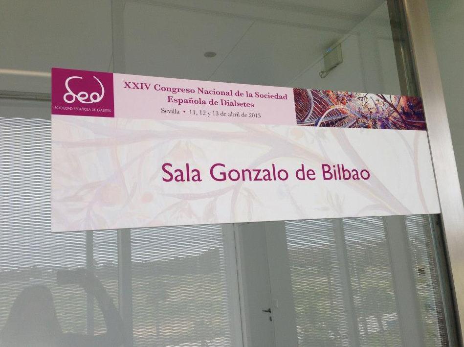 Trabajo realizado para el congreso de la Soc. española de diabetes