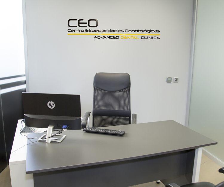 Despacho de nuestra clínica dental en Ciudad Real