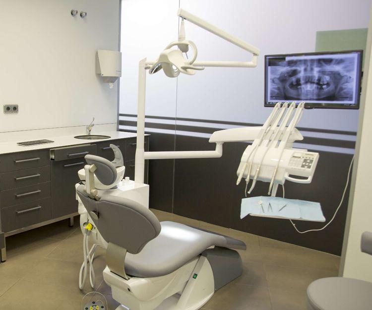 Sala de tratamientos de nuestra clínica dental en Ciudad Real
