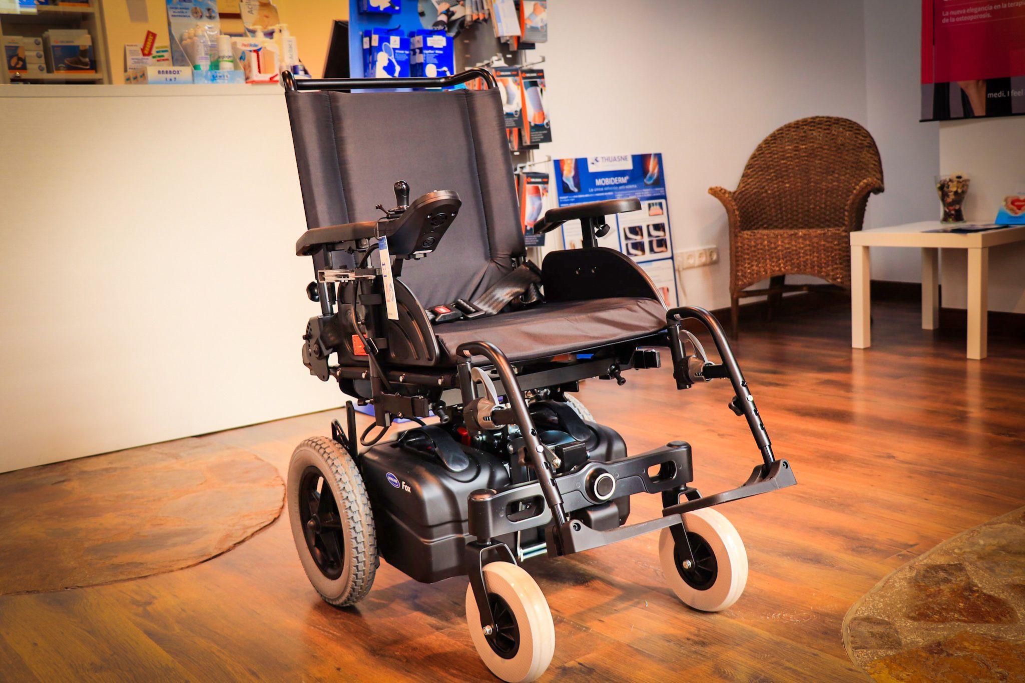 Alquiler de sillas manuales y eléctricas en Vitoria