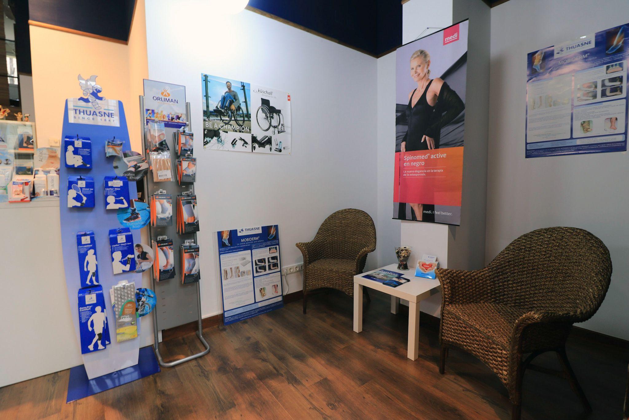 Ortopedia con productos para el descanso en Vitoria