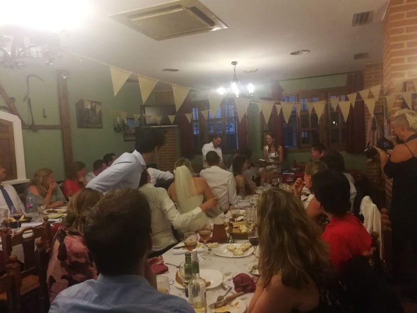 Restaurante para bodas en Salamanca