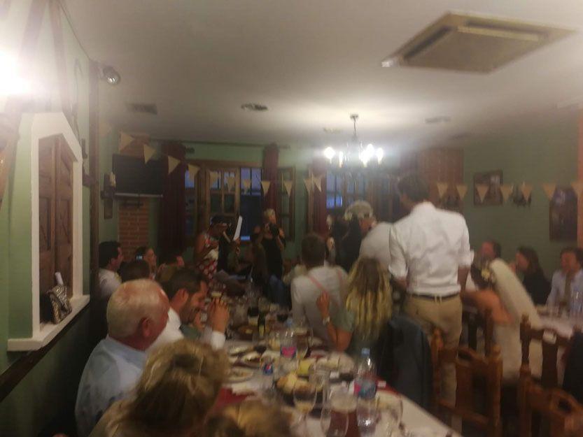 Restaurante para comidas de grupo en Salamanca