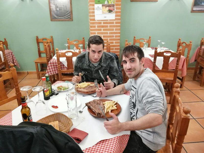 Restaurante especializado en carnes en Salamanca