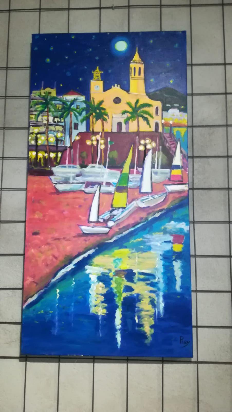 Foto 68 de Galería de arte y sala de exposiciones en Sitges | L´Art i Café