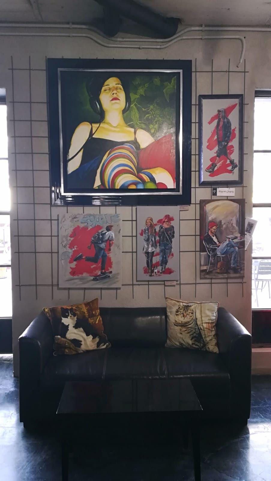 Foto 10 de Art gallery and exhibition hall en Sitges | L´Art i Café