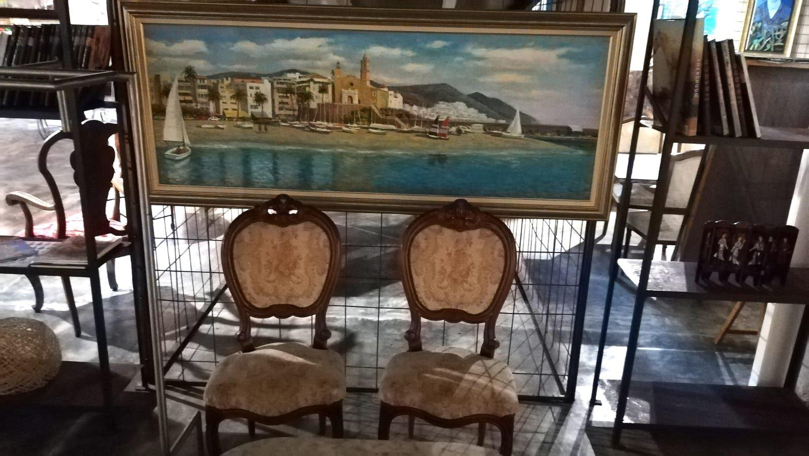 Foto 81 de Art gallery and exhibition hall en Sitges | L´Art i Café