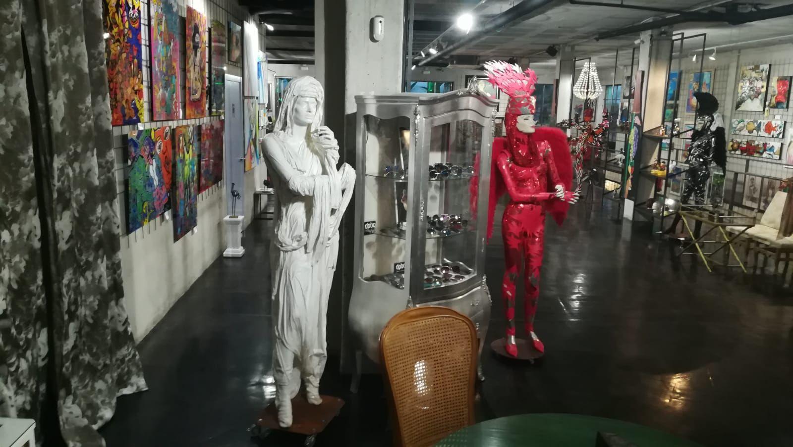 Sala de exposiciones en Sitges