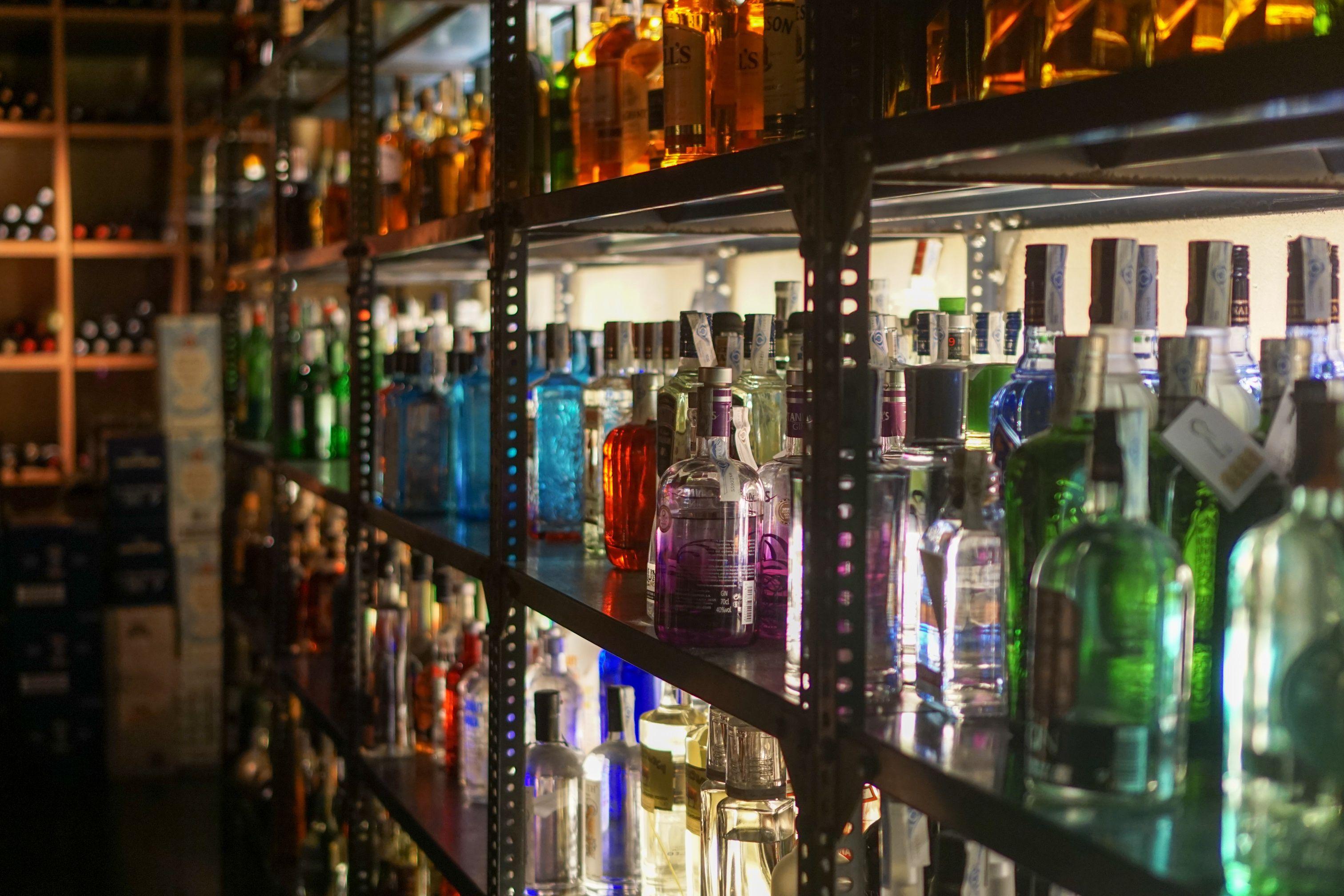 Ginebras: Carta de bebidas de Swing Tavern