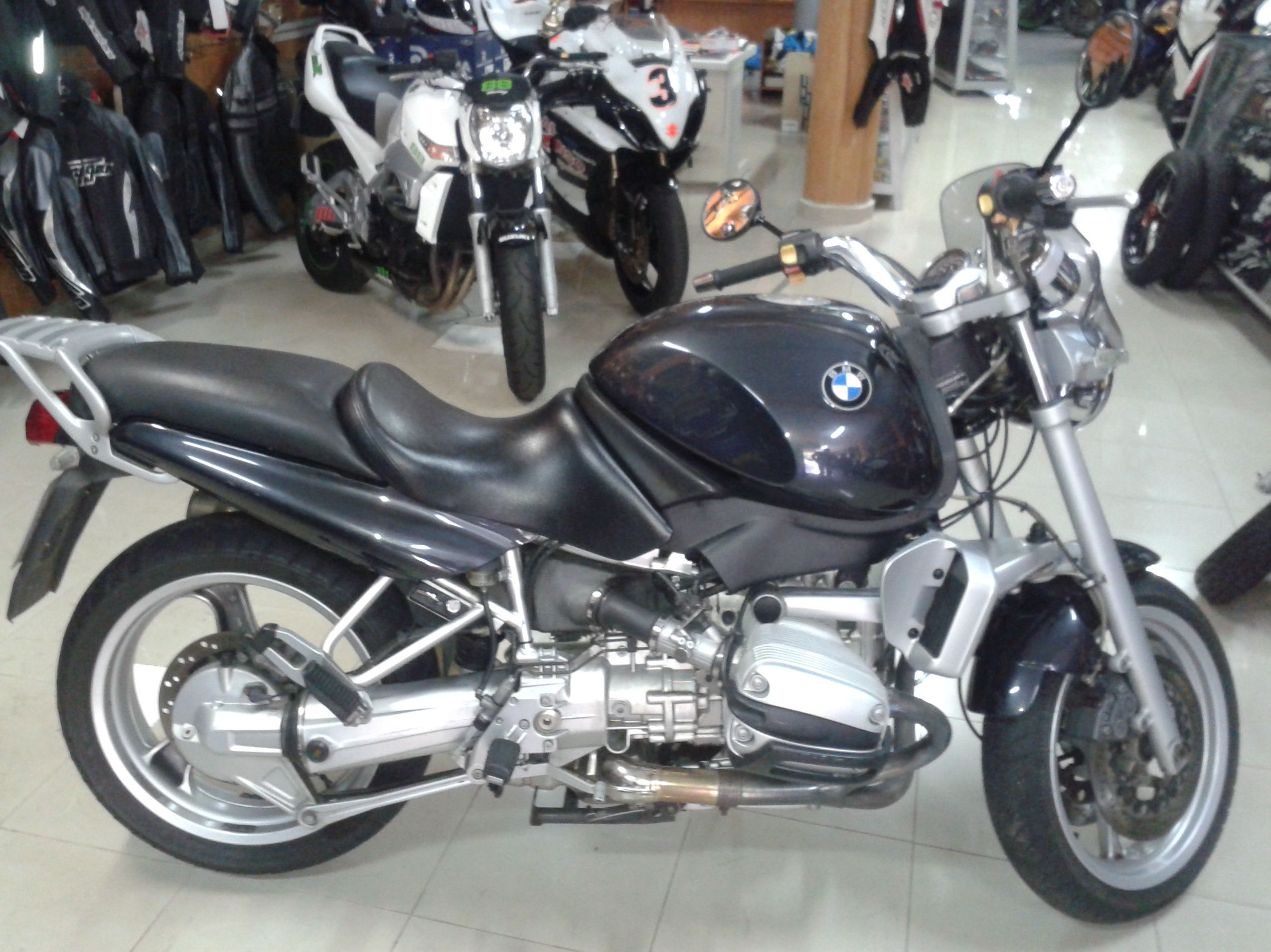 BMW R 850 2001: Productos de Alonso Competición