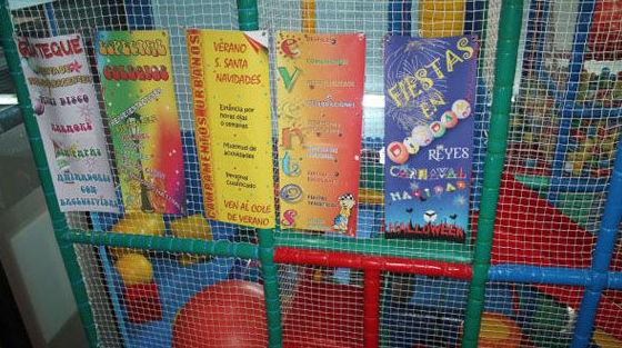 Centro infantil en Madrid. Celebración de cumpleaños