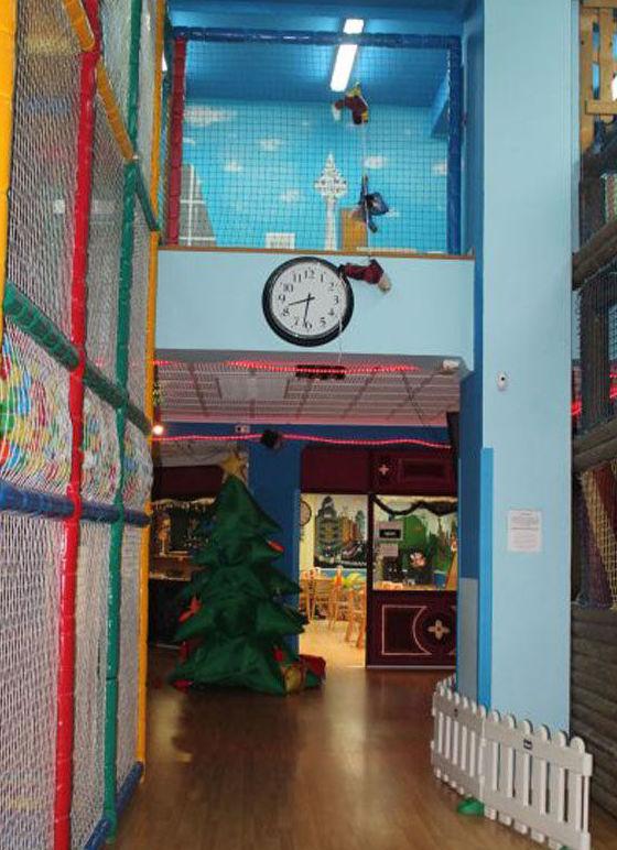 Centro infantil con piscina de bolas