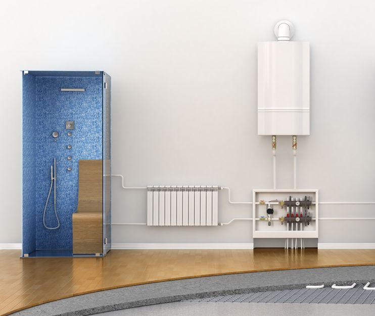 Calderas, radiadores, termos y duchas de agua caliente en el Vallès Oriental