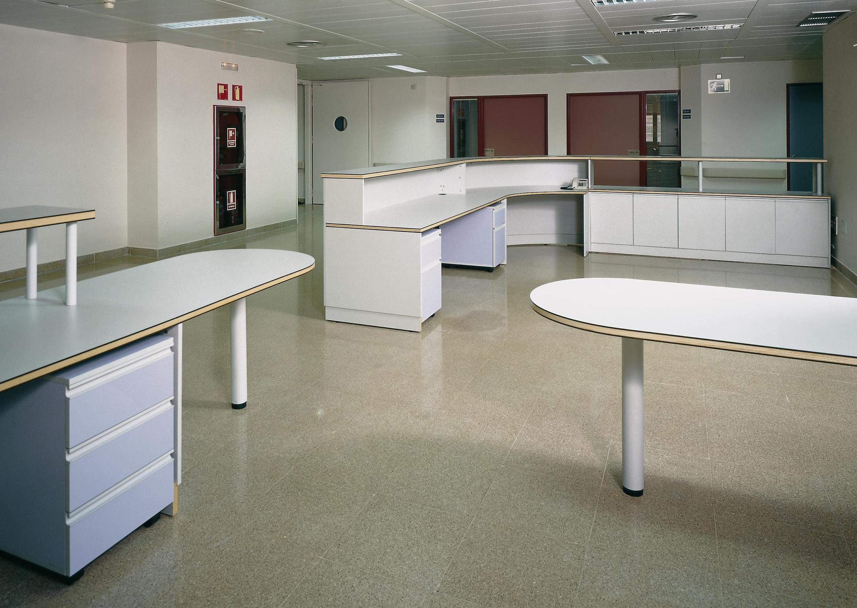 Mobiliario control de enfermería