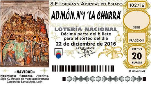 Lotería La Churra en Campaspero