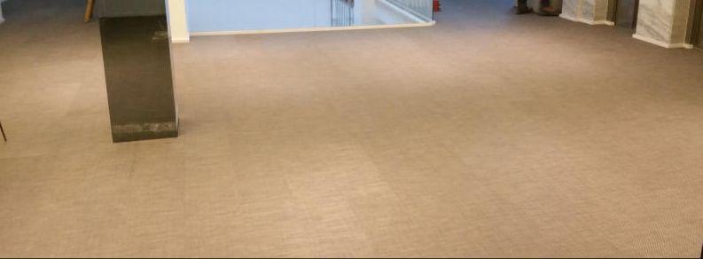 Polishing floors in the Balearics