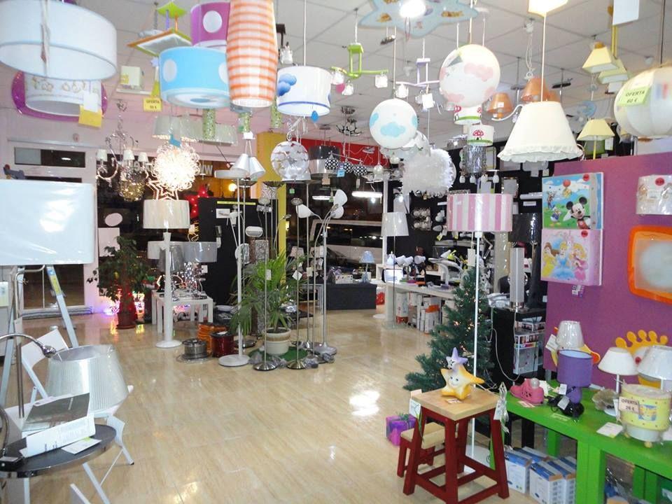 Tienda de lámparas e iluminación led