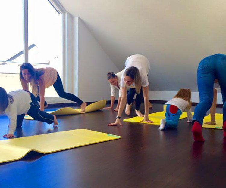 Yoga para niños en Las Rozas de Madrid