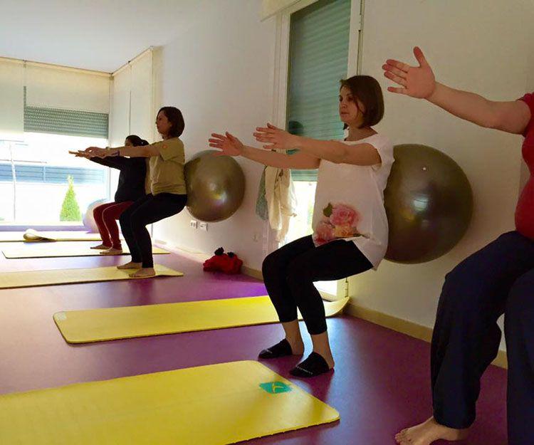 Pilates durante el embarazo en Las Rozas de Madrid