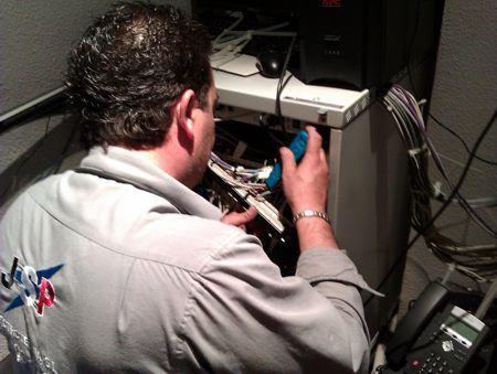Redes informáticas y telefonía: Servicios de Jsp Electrotecnia, S.L.