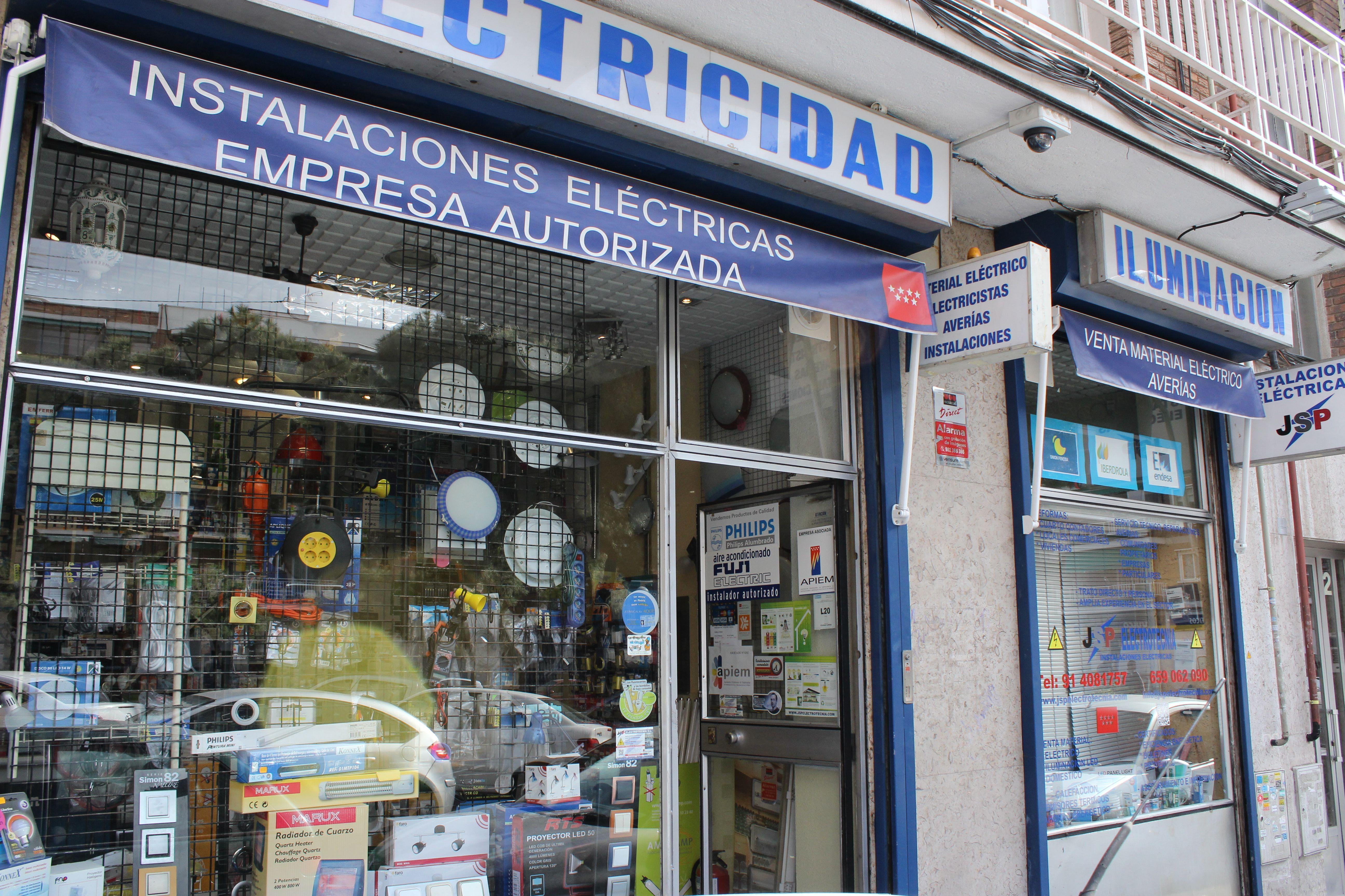 Foto 1 de Electricidad en Madrid | Jsp Electrotecnia, S.L.