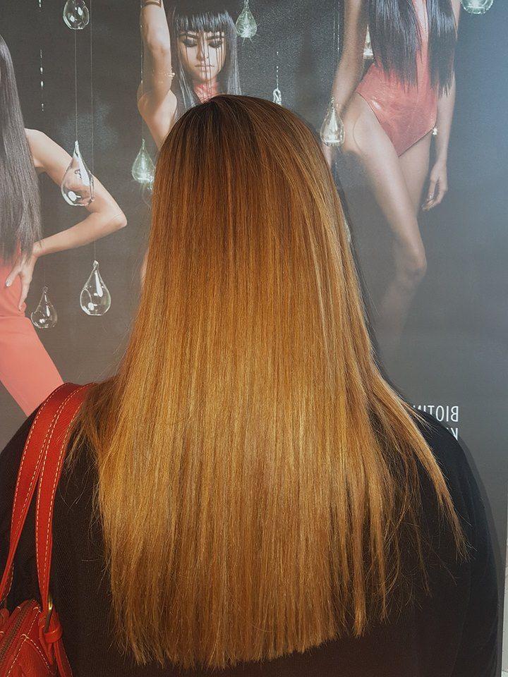 Tratamiento alisador de cabello BK