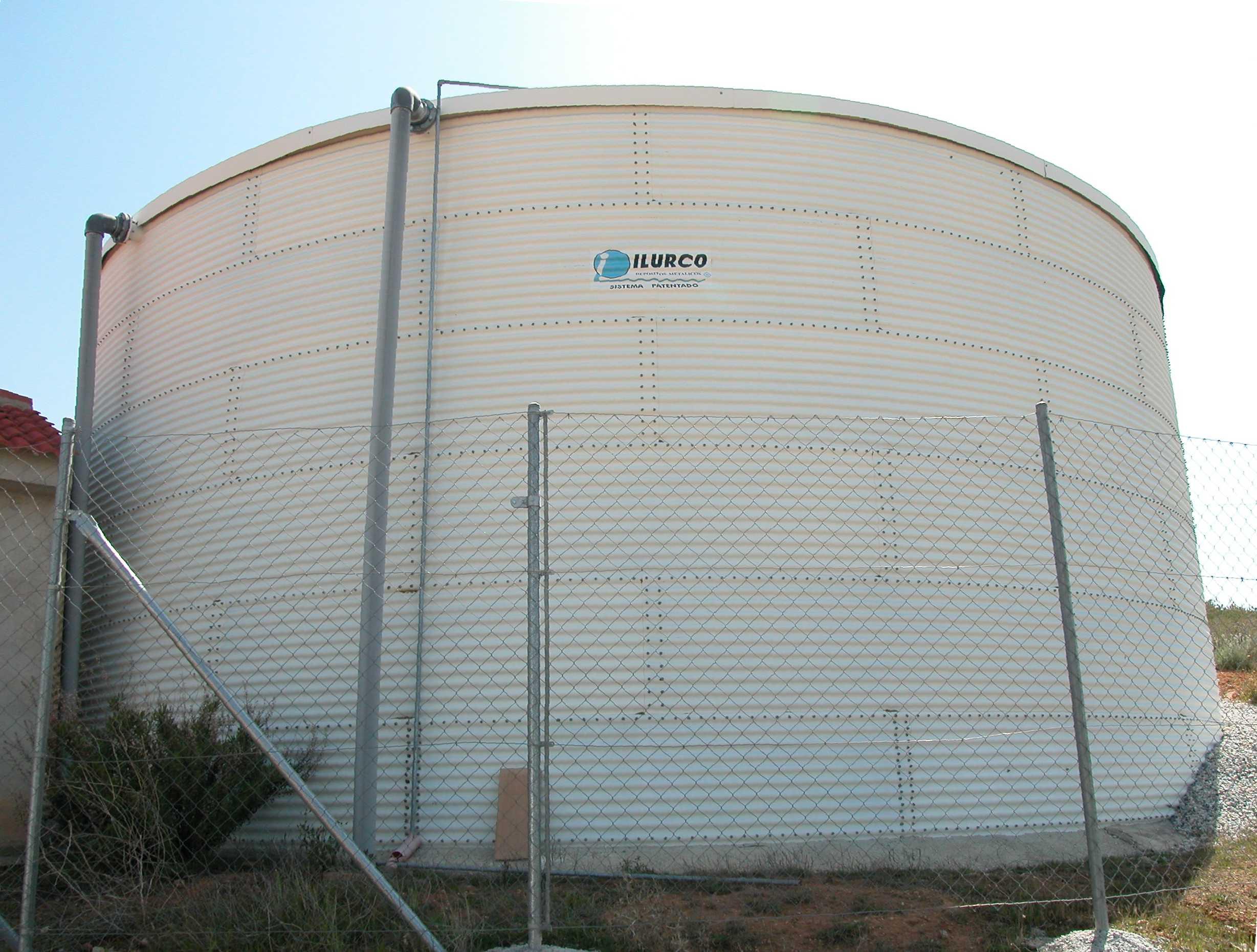 2 depositos para agua potable servicios de ilurco - Depositos de agua potable precios ...