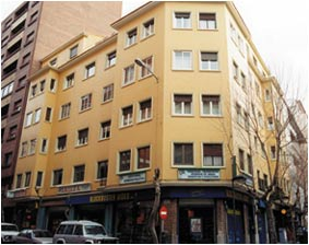 Rehabilitación de fachadas : Servicios  de SINANDAMIOS ZAMORA, S.L. (Almacén)