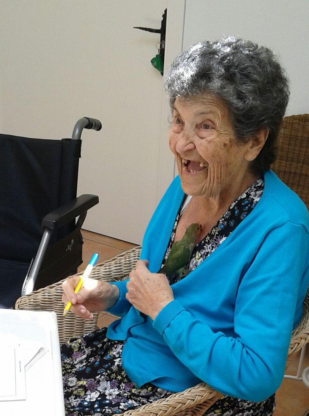Homenaje a nuestra residente Soledad Mazo Bravo