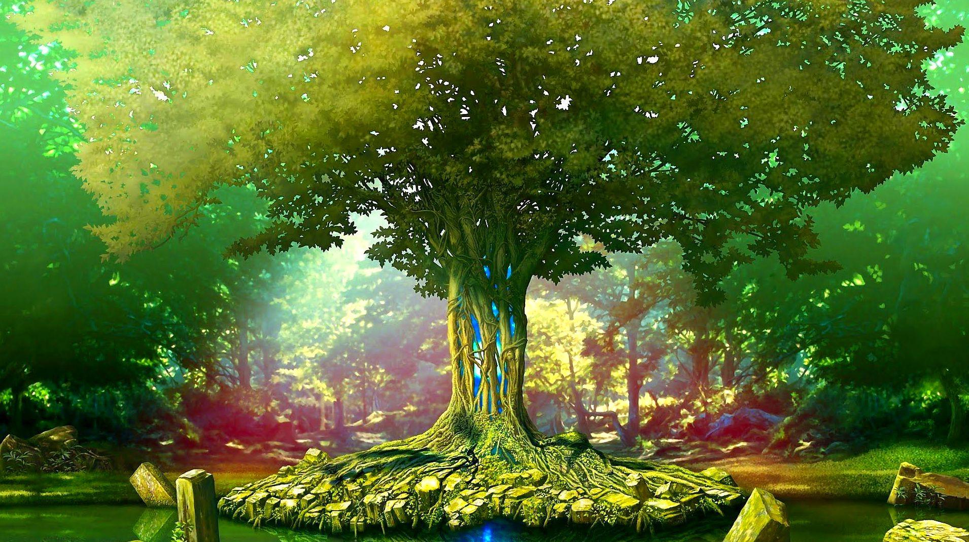 El árbol mágico- Psicoterapia  niños Centro Hope