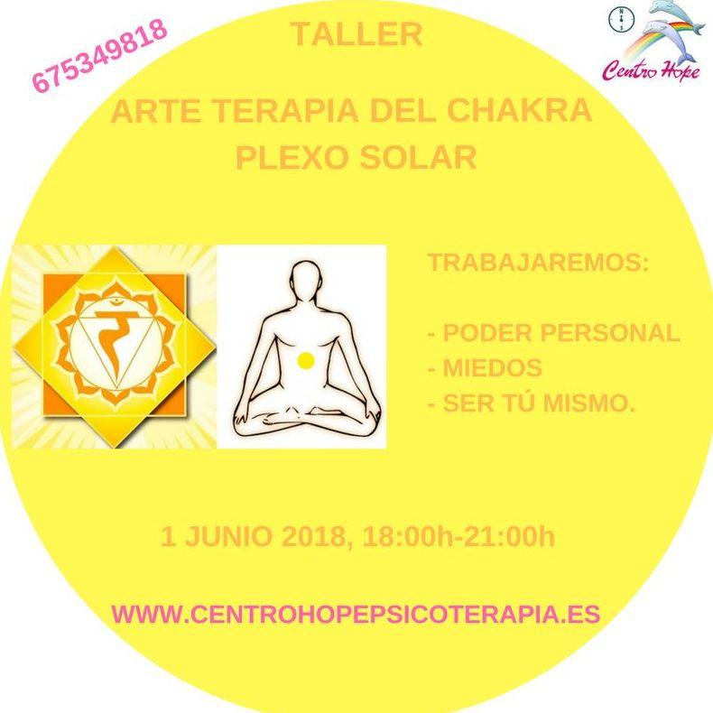 Taller de Arte terapia del chakra plexo solar. Centro Hope
