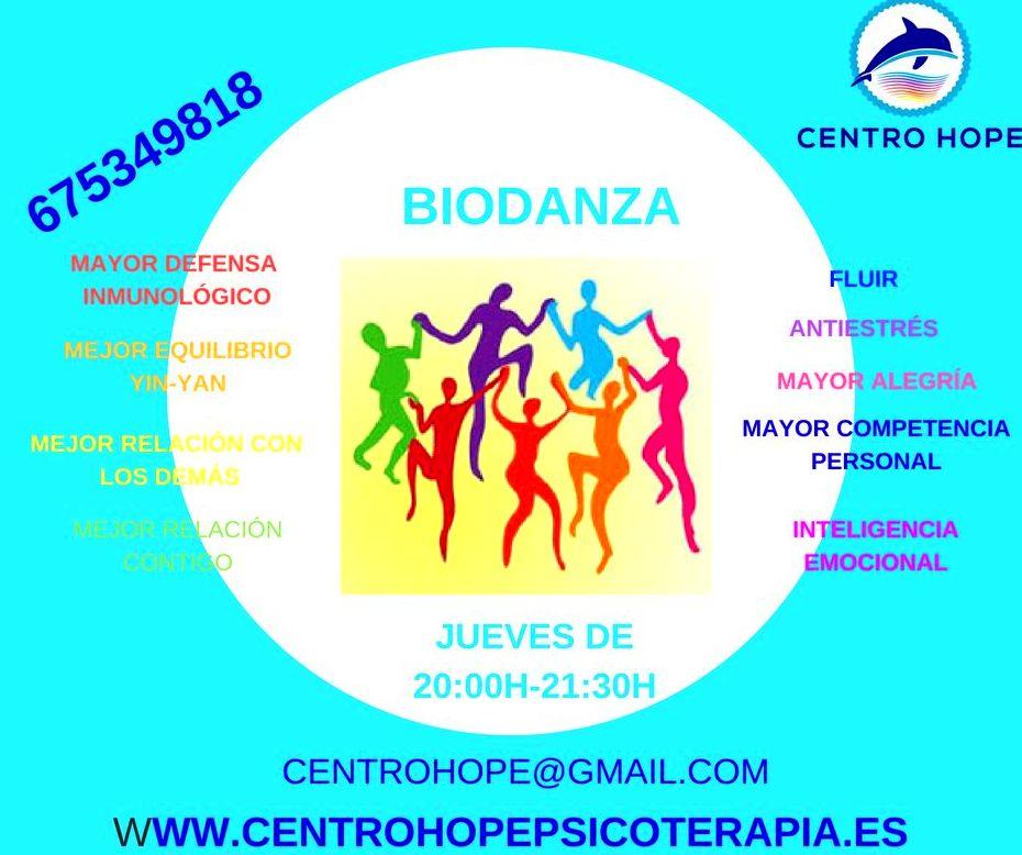 Biodanza- Centro Hope