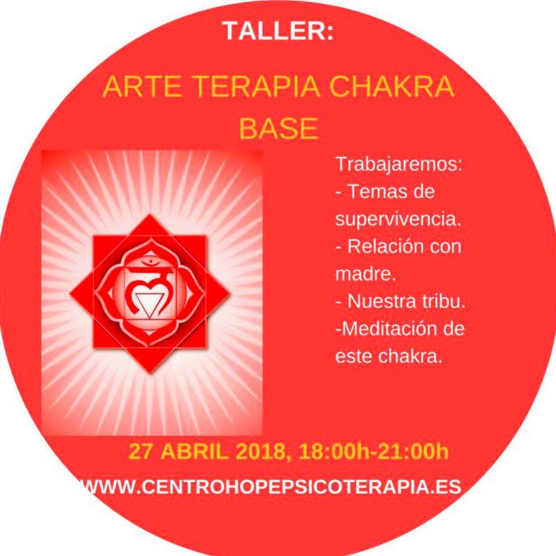 Taller de Arte terapia del chakra base. Centro Hope