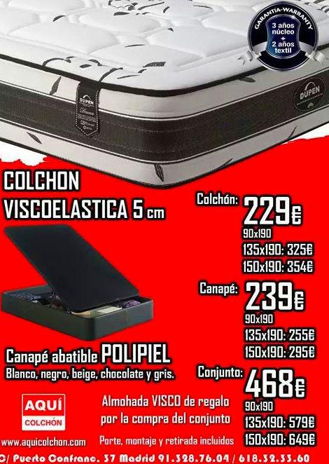 Foto 33 de Colchones y somieres en Madrid | Aquí Colchón