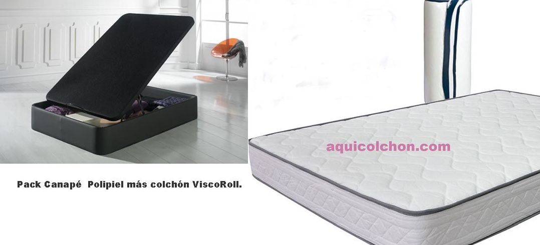 Pack Canapé + Colcón ViscoRoll.