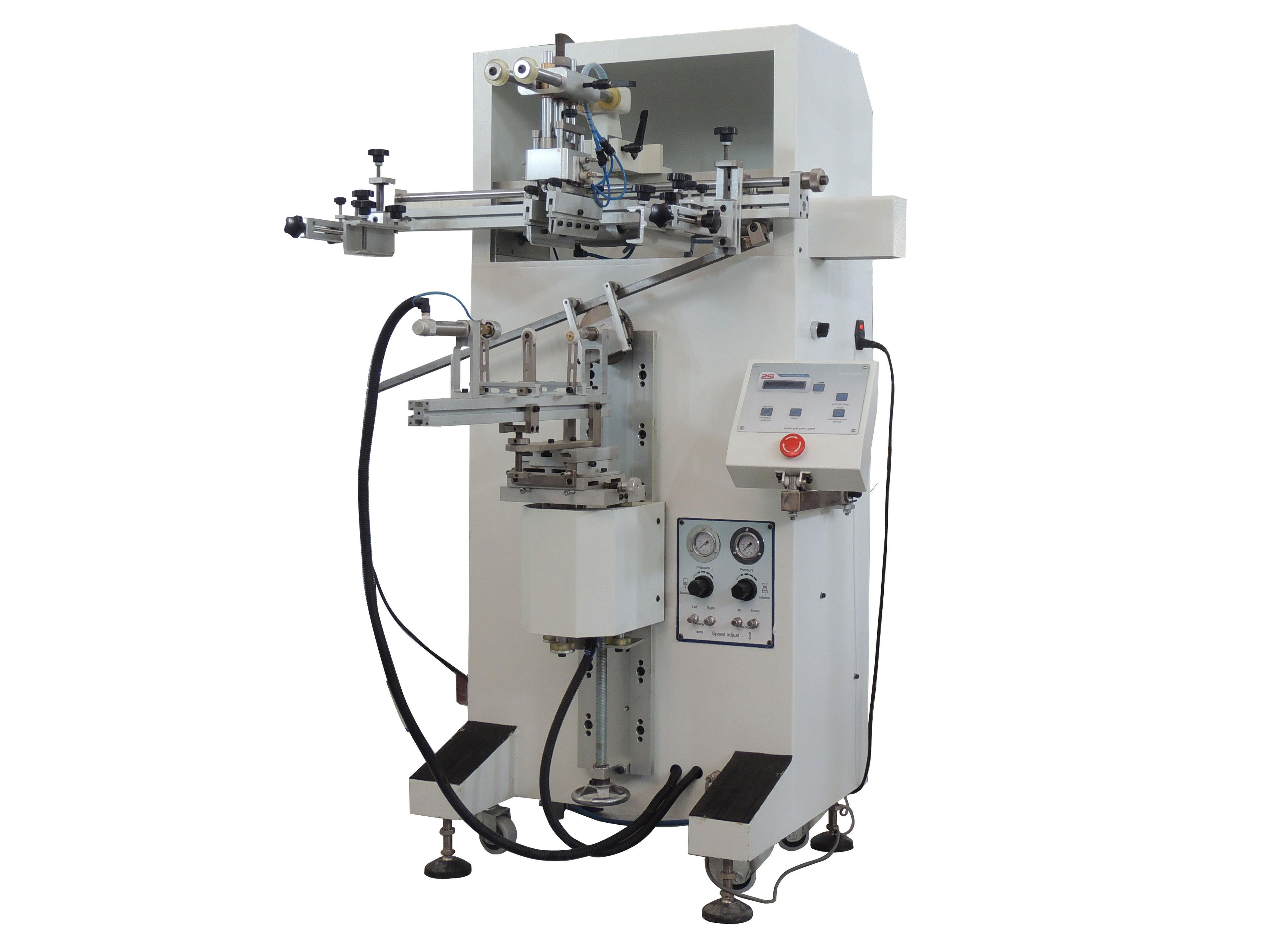 Máquina de serigrafia cilindrica/oval/plana