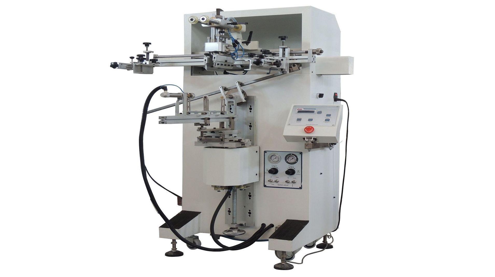 Máquina de serigrafía cilíndrica/oval/plana