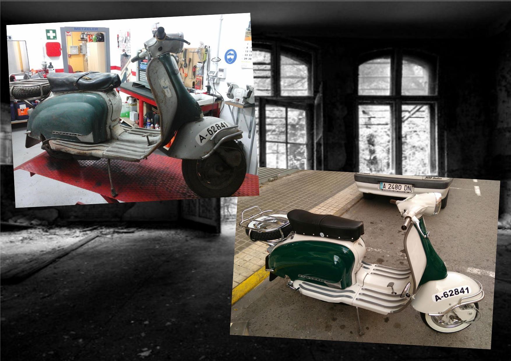 Restauración y reparación Lambretta: Productos de Moto Restauración SG