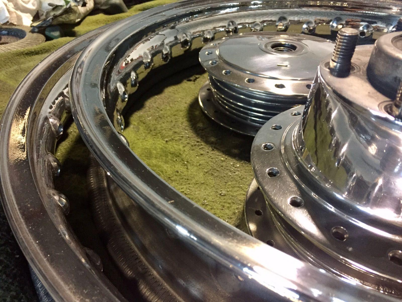 Radiado de llantas: Productos de Moto Restauración SG
